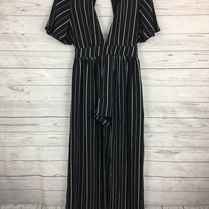 a3bcb5b3445d Socialite Pants - Socialite striped walk through maxi romper dress